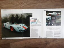 Gulf Ford Gt40 - Classic Track Test Article - Classic Cars Magazine