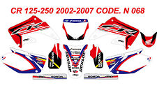 N 068 HONDA CR 125-250 2002-2012 Autocollants Déco Graphics Stickers Decals Kit