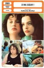 A MA SŒUR ! - Reboux,Mesquida,Breillat (Fiche Cinéma) 2001 - Fat Girl