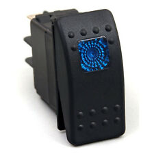 Waterproof On/Off Rocker Switch 12V LED RV Camp Trailer Motor Home Coach BLUE