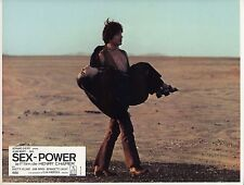 ALAIN NOURY JULIETTE VILLARD SEX-POWER 1970 VINTAGE PHOTO LOBBY CARD N°11