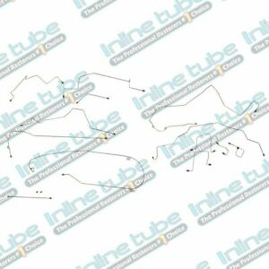 1998-2001 FITS RAM 1500 2500 2WD 4WD REAR ABS SHORT BED BRAKE LINE KIT STAINLESS