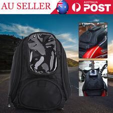 Black Motorcycle Motorbike Riding Strong Magnetic Waterproof Oil Fuel Tank Bag