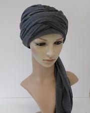 Women Turban hat, volume hair wrap, full head covering, head snood, tichel