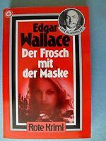 Der Frosch mit der Maske von Edgar Wallace TB Rote Krimi