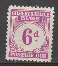 GILBERT & ELLICE 1940 POSTAGE DUE 6D