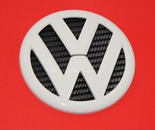 VW Golf 6  Polo 6R Logo Zeichen Emblem Heckklappenöffner Candy Weis LB9A Heck