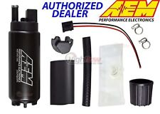 GENUINE AEM 50-1000 340LPH High Performance EFI Fuel Pump w/ Install Kit 340LPH