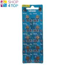 10 VINNIC ALKALINE BATTERIES L736 G3 LR41 1.5V EXP 2023 NO MERCURY NEW