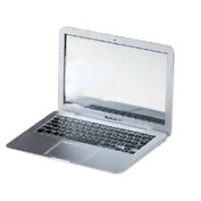 MAKEUP HOT Mini Pocket MacBook Air Laptop Glass Women Mirror Portable Sliver
