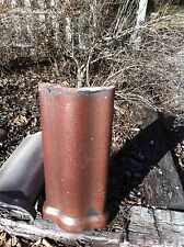 Vintage Ceramic Terracotta Roofing tile Garden art Architectural Salvage