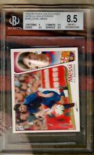 2004  PANINI ESTE LEO MESSI ROOKIE CARD BGS 8.5