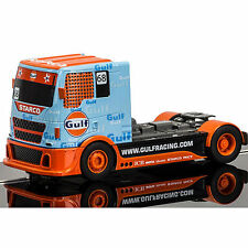 Scalextric slot car C3772 team camion gulf No.68