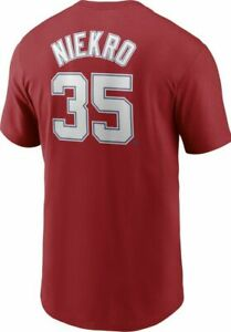 ⭐NWT⭐Nike Mens Atlanta Braves Phil Niekro Cooperstown Red Shirt SZ S or L $35