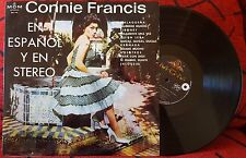 CONNIE FRANCIS *En Español Y En Stereo* IN SPANISH VERY RARE Spain LP