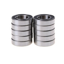 10pcs 6902-2RS Bearing 15x28x7 mm Metric Thin Section Ball Bearings 6902RS  &fj