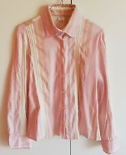 CAMICIA/Shirt COTONE/Cotton ELASTICIZZATO/Elastic tg/size 46 Made in ITALY
