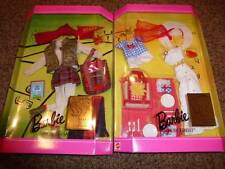 2-Vintage Barbie Doll Fashions Millicent Roberts Goin Game 16076 16077 Picnic