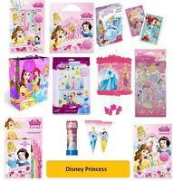 DISNEY PRINCESS - Colouring Stickers Activity Packs/Pads/Card/Party Gift Xmas