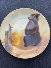 """Rien Poortvliet Collector Plate Secrets Of The Gnomes """"Supreme Justice"""" Rare!"""