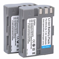 2Pcs EN-EL3e Battery For Nikon D300S D300 D100 D200 D700 D70S D70 D80s D80 D90