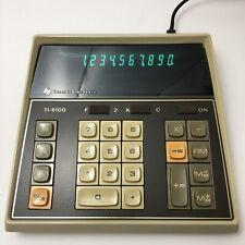 Vtg Texas Instruments Electronic Calculator Ti-5100