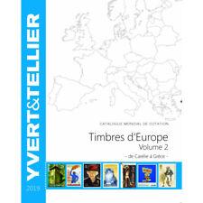 Catalogue de cotation Yvert timbres d'Europe Carélie à Grèce.