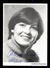 Herma Koehn Autogrammkarte Original Signiert # BC 70892