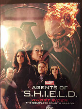 Marvels Agents Of SHIELD Season 4 (DVD, 2017, 5-disc) BRAND NEW & SEALED!!