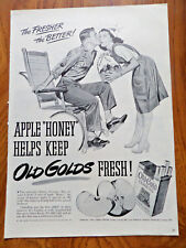 1944 Old Gold Cigarette Ad  Lot of 3 Different Ads