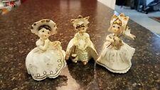 Vintage lefton girl figurines