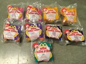 McDonald's 1998 Lion King II Simba's Pride 9 plush toys Kovu Pumbaa Rafiki Zazu