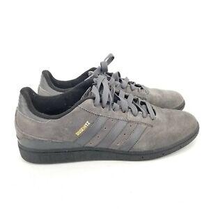 B62 Adidas Busenitz Men's Sneakers Gray Suede Size 10.5 Gray Suede