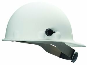Fibre-Metal Honeywell P2AQRW01A000 Eight Glass Cap Style Ratchet Hard Hat White