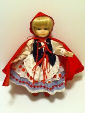 Vintage Bradley Little Red Riding Hood Porcelain Doll With Soft Body