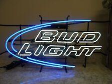 BUD LIGHT ICONIC NEON LIGHTED BEER SIGN budweiser lite (56382-2 JO)