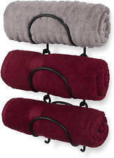 3 Wrought Iron Wine Bottle Rack Modular Wall Mounted Hold Towel Holder Bar Tool