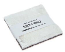 """Moda FABRIC Charm Pack ~ COMPOSITIONS ~ by BasicGrey 42 - 5"""" squares"""