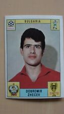 Panini Mexico 70 WM 1970 original used card red back Zhecev excellent