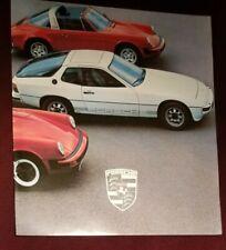 Prospekt Brochure Porsche 924, 928, 911 SC, Turbo Modelljahr 1979