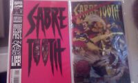 Marvel Comics Sabertooth Lot of 2 Modern Age NM
