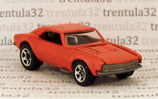 ? Set Exclusive Mock-Up? Custom? '67 CHEVY CAMARO 1967 orange Hot Wheels Loose