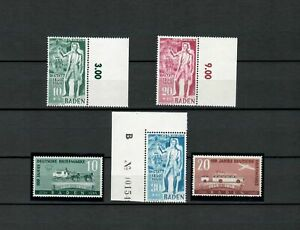 GERMANY  EUROPE BADEN COLLECTION OF  MNH SET STAMPS LOT (GER 77)
