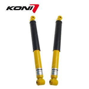 2 x Rear KONI Sport Adjustable Shock Absorbers for Volvo 240 260 series 78-93