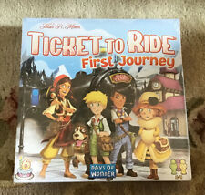 Days Of Wonder Ticket To Ride First Journey Board Game w/Europe Map NEW SEALED!!