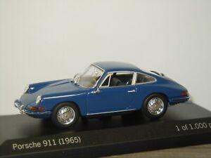 Porsche 911 Coupe 1965 - Minichamps 1:43 in Box *42449
