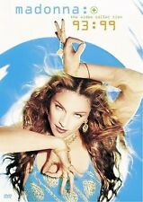 MADONNA - THE VIDEO COLLECTION 93-99 NEW DVD