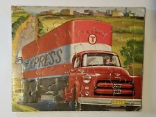 "DODGE EXPRESS Semi Truck 1954 SIFO CO Puzzle 8""x10"" VINTAGE WONDER BOOKS INC"