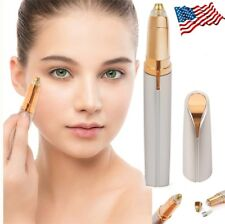 Electric Brows Remover Razor Face Eyebrow Trimmer Facial Hair Removal LED Light