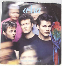 "A-HA - YOU ARE THE ONE REMIX 7"" Single Vinyl 45 Picture Sleeve VG"